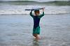Everett And His Boogie Board (Joe Shlabotnik) Tags: july2017 higginsbeach boogieboard 2017 maine justeverett everett ocean beach afsdxvrzoomnikkor18105mmf3556ged