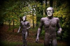 Joggers (PentlandPirate of the North) Tags: ysp yorkshiresculpturepark brettonhall ~flickrinnes flickrinnes
