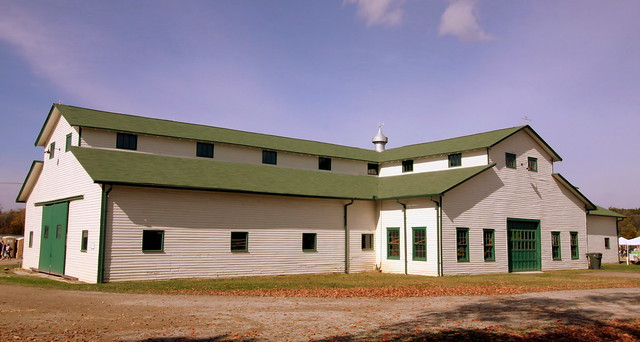 Harlinsdale Farm's Main Horse Stable - Franklin, TN