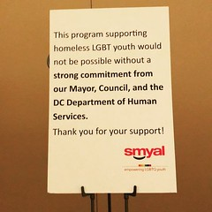 I support the future too. #SMYALBrunch #DC #InstaDC #TransVisibility ❤️️🌈🌎