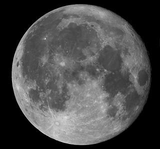 99% Illuminated Moon Mosaic