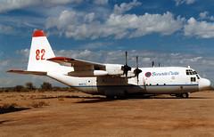 N116TG Lockheed C-130A Hercules Securite Civile (T & G Aviation) (Keith B Pics) Tags: n116tg c130 usaf560478 60478 chandlermemorial kl07 arizona hercules lockheed c130a tanker82 waterbomber tgaviation chandler aubenas securitecivile firebomber