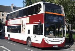 20170919 - 5093 - Lothian Buses - Enviro 400 - No 206 - Route 10 - St Andrew Square (opp George Street) - Edinburgh (Paul A Weston) Tags: lothianbuses enviro400 edinburgh standrewssquare 206 route10