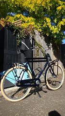 'Tina' in Walthamstow (Dan K ™) Tags: utilitybike dutch cortina walthamstow miniholland transportfiets workbike cycling dutchstyle london