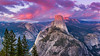 Washburn Point (Amar Raavi) Tags: halfdome washburnpoint panorama glacierpoint sunset dusk yosemite nationalpark valley geology granite northface california landscape scenic iconic anseladams outdoors travel usa night clouds colorful vista view expansive