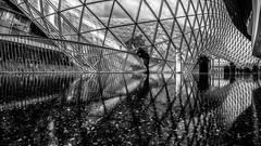 Frankfurt MyZeil (Thdenz) Tags: nacht frankfurt architektur licht blauestunde vhs main