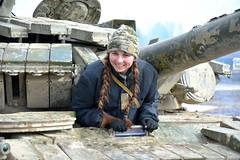 Потужні танки приборкують тендітні дівчата (Ministry of Defense of Ukraine) Tags: antiterrorist operation eastern ukraine war ато война зсу війна армія військовослужбовці танк бтр бмп піхота зу23 танкісти артилерія боги війни артилеристи бм 21 град д20 д30 всу донбас сухопутні війська вдв мі24 мі8 ан26 д6 спецназ парашют парашут
