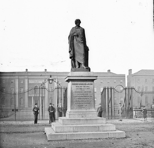 Statue of Frederick, east of Belfast, d.1858, College Square, Belfast, Co. Antrim