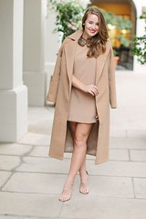 Fall Looks : missguided coat, missguided dress, fur collar, fur collar dress, fur dress, came... - #Fall