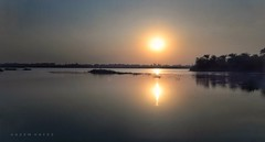 Glorious Nile ... (Hazem Hafez) Tags: nile river water sun sunset skyline longexposure nikon crystal mirror
