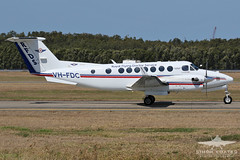 VH-FDC BEECH KING AIR 350 RFDS (QFA744) Tags: vhfdc beech king air 350 rfds