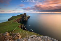 NEIST POINT (Obikani) Tags: neistpoint lighthouse scotland skye summer sunset landscape seascape clouds sea rocks beauty alavavision