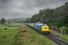 40145 (Geoff Griffiths Doncaster) Tags: 40145 vale elr east lancs railway diesel gala class 40 cfps d345 345 irwell