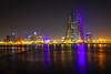 Bahrain by night. Manama downtown lights (Andrey Sulitskiy) Tags: bahrain manama