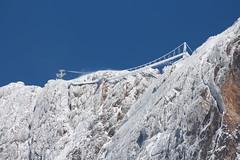 Icy-bridge II (Walcher Franz) Tags: ramsau dachstein schladming ennstal tauern skywalk treppe ins nichts hängebrücke seilbahn gondel ski amade skiamade südwand eispalast icepalace glacier gletscher sommercard schnee snow
