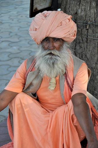People of India. (Vrindavan, Uttar Pradesh)