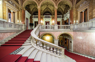 Hungarian Opera House - Stairs hall -2