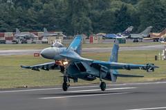 Sukhoi Su-27P (Manx John) Tags: ukrainianairforcesukhoisu27p58cn36911035612 ukrainian air force sukhoi su27p 58 cn 36911035612