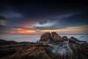 Neptune`s Throne (Fernando Piçarra) Tags: santa cruz praia beach portugal sea seascape ocean atlantic rocks clouds color long exposure