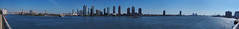 East River View (Steven Bornholtz) Tags: panorama east river new york city manhattan nyc ny us usa united states america outdoors sunny steve steven bornholtz dj midway djmidway photography imagery picture landscape olympus camera ep5 p5 pen getolympus water urban cityscape queens lic long island qns
