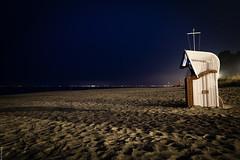 Strandkorb (Photo JP) Tags: schleswigholstein sierksdorf beach ostsee bluehour strand blauestunde balticsee sonya6000