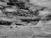 Bisti Badlands-60 (jamesclinich) Tags: bisti badlands danazin wilderness farmington newmexico nm jamesclinich hoodoo landscape sky clouds handheld availablelight olympus omd em10 mzuiko1240mmf28pro adobe photoshop topaz denoise detail blackwhite bweffects monochrome