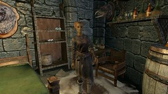 Faralda - 20171002025843_1 (Borgakh gra Khazgur) Tags: collegeofwinterhold faralda dorm hallofcountenance npc mage altmer highelf chair shelf