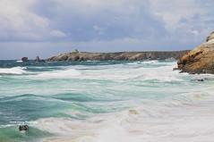 Paysage de Bretagne, Quiberon. ( photopade (Nikonist)) Tags: paysage bretagne nikond300 nikon mac mer eau sea rochers côte couleurs apple imac vagues