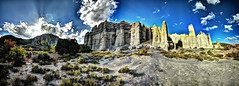 Plaza blanca (JoelDeluxe) Tags: chama river valley abiquiu october 2017 fall colors plaza blanca daralislam hdr panorama landscape nm newmexico joeldeluxe