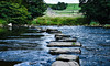 Stepping stones (davebou) Tags: yorkshiredales river steppingstones