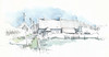 Moere, Christinestraat, België (Linda Vanysacker - Van den Mooter) Tags: watercolour visiblytalented vanysacker vandenmooter tekening sketch schets potlood pencil lindavanysackervandenmooter lindavandenmooter drawing dessin croquis crayon art aquarelle aquarell aquarel akvarell acuarela acquerello moere christinestraat belgië belgique belgium vlaanderen flandre flanders westvlaanderen gistel inexplore