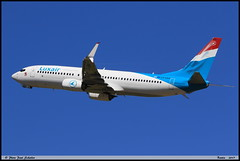 BOEING737 8C9 Luxair LX-LBA 43537 Bastia aout 2017 (paulschaller67) Tags: boeing737 8c9 luxair lxlba 43537 bastia aout 2017