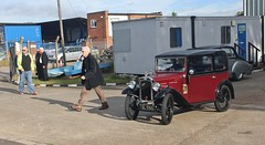"1934 Austin, ""Classic Vehicles Event"", Ipswich Transport Museum, 7th. October 2017. (Crewcastrian) Tags: ipswich transport cars austin ipswichtransportmuseum"