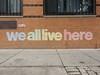 We all live here (aestheticsofcrisis) Tags: street art urban intervention streetart urbanart guerillaart graffiti postgraffiti ny nyc new york newyorkcity us manhattan lowereastside