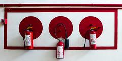 Extintor de Incedios (Linda_Shapiro) Tags: mexicoleica fireextinguisher sanmigueldeallende