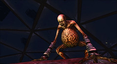 In the belly of the beast (Rusalka Nemeth) Tags: monster halloween brain belly beast second life