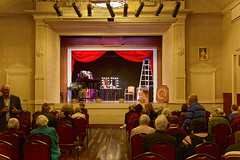 an evening out - sandgate town hall (Fat Burns ☮ (on/off)) Tags: townhall sandgatetownhall sandgate operaq stage performingarts arts opera operaqueensland lagooncreekbarcaldine qld australia