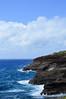 Coastal cliffs (*~Dharmainfrisco~*) Tags: dharma dharmainfrisco hawaii oahu waikiki sea water ocean hill waterfront cliff mountain blue roadmap road trip travel tour 2015