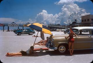 Daytona Beach — 1956