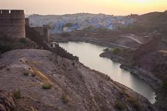 Rajasthan - Jodhpur - blue city- Mehrangharh Fort-5