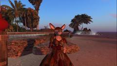That ol' hunt prize gown (Team PFV) Tags: secondlife furry anthro rabbit
