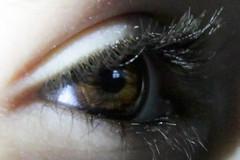 Week 39-52 (Reflections)10-09-17 (MelenaMe) Tags: reflections eye shadow shadows iris lashes face reflection sidelit sidelighting macro