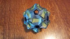 Polyanthus (sues4cats) Tags: origami modularorigami origamisonobe kusudama