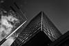 Vjesnik bw (Ivan Vranić hvranic) Tags: bw nik vjesnik zagreb croatia architecture sky windows streetlamp