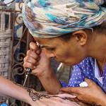 Henna Artist in Essaouira