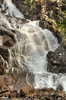 close look at waterfall (maryannenelson) Tags: tetons landscape wyoming treasurefalls mountains