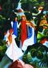 """im Herbst - """"Kunst im Alltag"""" (alex """"heimatland"""") Tags: august macke bäumen ölbild leinwand 1912 wald malerei viermädchen augustmacke expressionismus"""