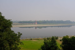 View across the Yamuna River (zzzweber) Tags: taj mahal agra x100f india