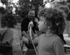 """Enfant Joli"" (The Blue Water Lily's Company) Tags: fdrouet nb bw monochrome monochrom film analog nikon ilford enfant child portrait retrato"