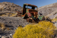 Rusty Abandoned Truck (Jeffrey Sullivan) Tags: deathvalley nationalpark california usa landscape nature travel photography canon eos 6d roadtrip photo copyright 2017 jeff sullivan allrightsreserved desert death southerncalifornia deathvalleynationalpark valley national park